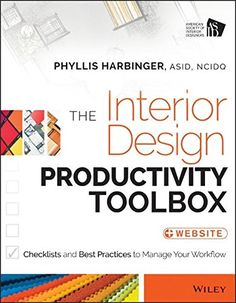 The Interior Design Productivity Toolbox Checklists And