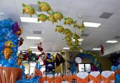 nemo birthday party ideas | Party Ideas / Finding Nemo birthday party decorations