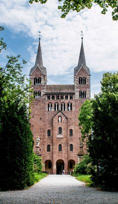 Stephen and Vitus Corvey Abbey in Hoexter, Germany Germany Castles, Chapter 16, Largest Countries, Ap Art, Central Europe, Medieval Art, Kirchen, Cathedrals, Germany Travel