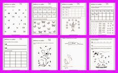 Νηπιαγωγός απο τα Πέντε: ΑΝΑΓΝΩΡΙΣΗ ΑΡΙΘΜΩΝ 0-10 Christmas Coloring Pages, Christmas Colors, Periodic Table, Photos, Words, School, Blog, Crafts, Xmas