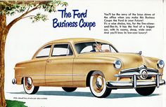 1949 Ford Deluxe Business Coupe