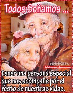 Siempre soñé envejecer al lado del amor de mi vida - ∞ Solo Imagenes, Frases, Fotos y Carteles de Amor ∞