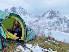 #PinpointTravel #Teigan #Vesterålen #Hadsel #Norway #Hiking #Mountain #lake #Snow #AdventureTravel #camping #Travel #nature #holiday #arctic #TravelAgency #TravelDestinations #TravelItinerary #TravelGuides #Destinations #tent Arlene Foster, Morning View, Hades, Archipelago, Arctic, Outdoor Gear, The Fosters, Norway, Tent