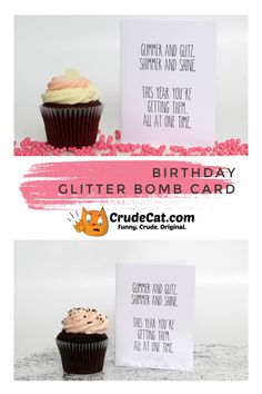 Glitter Bomb Prank Glitter Birthday Card For Him or Her Greeting Card Funny Card Prank Card Messy Card Birthday Card For Friend Summer Arts And Crafts, Arts And Crafts For Adults, Easy Arts And Crafts, Greeting Card Shops, Birthday Greeting Cards, Greeting Cards Handmade, Card Birthday, Mother's Day Gift Card, Unique Mothers Day Gifts
