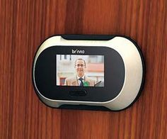 Help bring your home into the 21st century by installing the LCD door peephole. This high tech peephole utilizes a small LCD screen to let you clearly see...