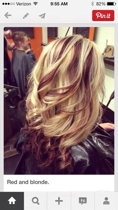 blonde with mocha lowlights - Google Search