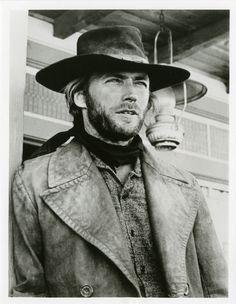 "Clint Eastwood in ""High Plains Drifter"" (1972). Director: Clint Eastwood."