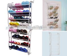 over the door shoe rack uses