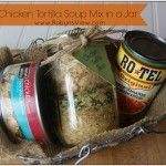 Chicken Tortilla Soup Mix in a Jar Gifts in a jar are great to give to those on your Christmas list. Everyone loves getting them, and it helps you to not overspend on Christmas.