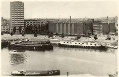 Het GEB-gebouw in de Rochussenstraat in de jaren '60