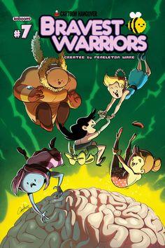 Bravest Warriors #7 cover