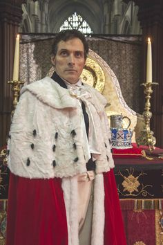 Rufus Sewell as Lord Melbourne in ITV's Victroria