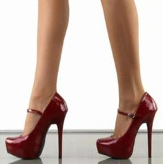 Wondering if the police would stop you for these sexy red shoes