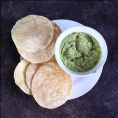 Guacamole mit Tostadas