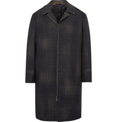 LANVIN Checked Wool Coat. #lanvin #cloth #coats and jackets