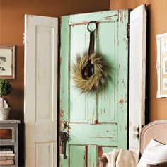 Make a Screen with Salvaged Doors
