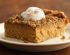Treat you guests with these squares made with sweet potatoes and Pillsbury® pie crust - a delicious dessert.
