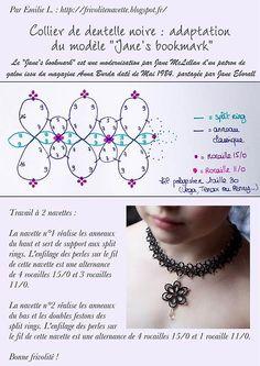 Resultado de imagen de Free Needle Tatting Instructions