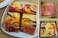Kek Marble Jelita. Kek Sedap & Gebu Boleh Masak 3 Cara. - RASA Marble Cake, Pizza Hut, Desserts, Food, Cakes, Tailgate Desserts, Deserts, Essen, Dessert