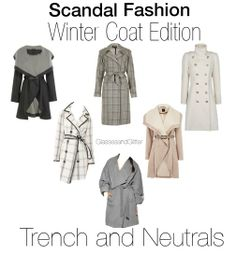 Look for Less: Olivia Pope Scandal Coats for Fall and Winter!!