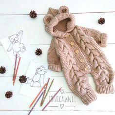 Cómo hacer lindo otoño Cardigan Crochet nuevo 2019 - Página 9 de 36 - crochetbeaus. com Baby Knitting Patterns, Baby Hats Knitting, Baby Patterns, Knitted Hats, Cardigans Crochet, Crochet Baby Sandals, Sleep Sacks, Sewing, Kids