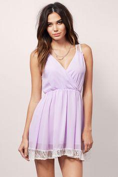 In A Flutter Dress