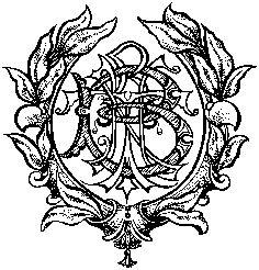 Custom Monogram by Debbie Bernet