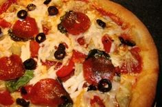 Gluten Free Dairy Free Pizza