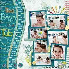 Two Boys in a Tub - will need to change title, but like layout