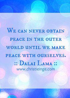 Dalai Lama on self love