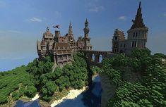 PixeledMe Minecraft   Menock Castle Minecraft World Save