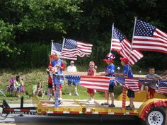 4th of july parade clipart