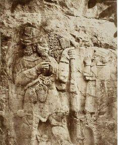 Konya, İvriz, Hitit Kaya kabartması , 1887