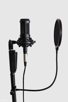Home Recording Studio Setup, Recording Studio Microphone, Best Studio Microphone, Microphone Drawing, Camera Mic, Music Studio Room, Dream Music, Music Wallpaper, Filters