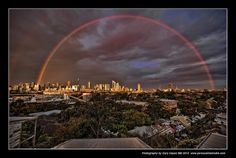 Rainbow over Sydney