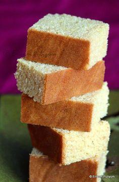 Erivum Puliyum: Eggless Vanilla Cake (Condensed milk)