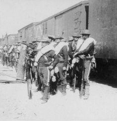 Ejercito que entra a Puerto Rico en el 1898