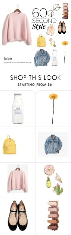 """Pastel Daisy"" by toastedmarshmellow ❤ liked on Polyvore featuring Rituals, Gerber, WithChic, Celebrate Shop, Acne Studios, 60secondstyle and PVShareYourStyle"
