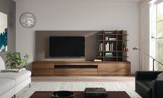 Salones modernos de @mobenia , ideal para tu hogar! #salones