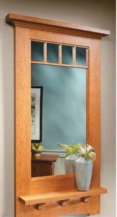 Craftsman-Style Wall Mirror