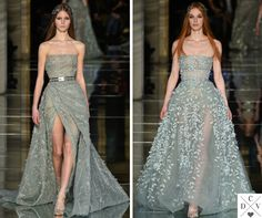 Olive green by Zuhair Murad!