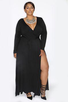 Siren Wrap Dress