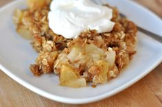 ***MADE IT/LOVED IT*** Apple Crisp (can halve the recipe for 8x8 pan and reduce baking time by 5 minutes)