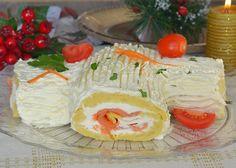 Tronchetto salato di patate ricetta per le feste
