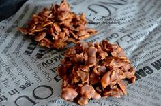 Cookies: Milk chocolate sand roses - Pleasures of the taste buds, sweet - savory. A tavola ! How To Cook Corn, How To Cook Chicken, Raisin Cookies, Breakfast Dessert, Biscuits Roses, Gluten Free Cookies, Delicious Desserts, Cake Recipes, Food And Drink