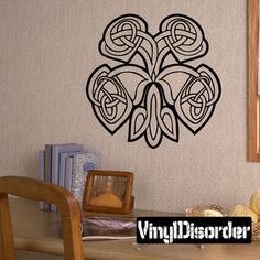 Celtic Ornament Wall Decal - Vinyl Decal - Car Decal - SM199
