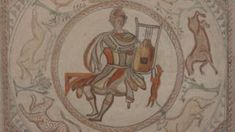 Roman Orpheus mosaic to be displayed at Bristol museum - BBC News