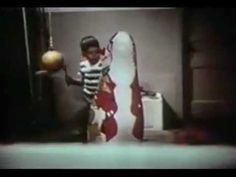 Albert Bandura's Bobo Doll experiment helped show that children exposed to violence are more likely to express it and escalate it. this video shows that the child exposed to violence took it a step further and was more interested in the gun as a weapon.