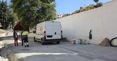 MOTRIL.Se ha limpiado y hormigonado un total de 470 metros cuadrados.