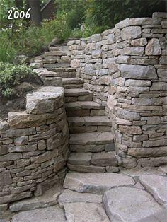 Stone Angels Masonry - The Garden Stairs